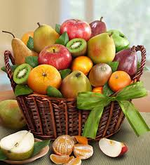 fresh fruit basket delivery orchard fruit basket same day gift basket delivery carithers florist