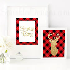 Home Decor Parties 222 Best Buffalo Plaid Red U0026 Black Flannel Lumberjack Party