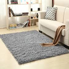 Modern Shag Rug Winlife Soft Silk Wool Rug Indoor Modern Shag Area Rug Silky