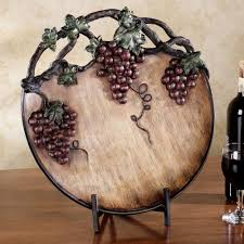 grape harvest charger plate port home decor decorative chargers