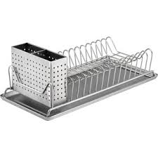 dish drainer for small side of sink dish racks drainers you ll love wayfair