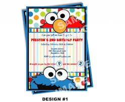 free cookie monster invitation template monster birthday