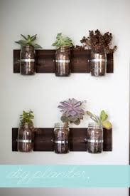 Mason Jar Wall Planter by 102 Best Garden Images On Pinterest Flowers Landscaping And Plants