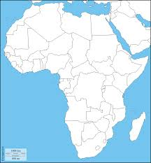 Africa Physical Map by Africa Free Map Free Blank Map Free Outline Map Free Base Map