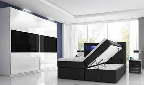 Schlafzimmer Online Auf Raten Schlafzimmer Mit Boxspringbett Mit Zwei Bettkästen Möbel Für