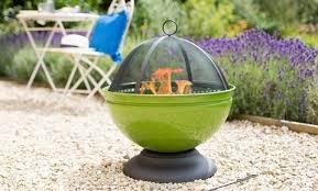 How To Use A Firepit Firepit La Hacienda Moda Enamelled Firepit
