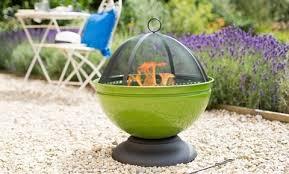 Fire Pit Globe by Firepit La Hacienda Moda Enamelled Firepit