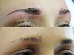 feather eyebrow tattoo elegant lashes