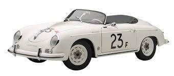 porsche 356 speedster autoart 77865 porsche 356 speedster 23f white diecast car 1 18 ebay