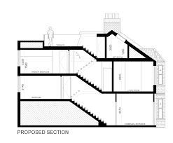Loft Conversion Floor Plans Residential U2013 Loft Conversion In London Extension Architecture