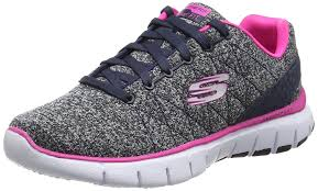 skechers equalizer space out womens slip on walking sneakers