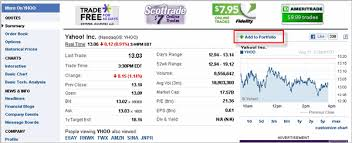 Yahoo Finance Yahoo Finance Blogyahoo Finance Launches Wider Cleaner Quotes