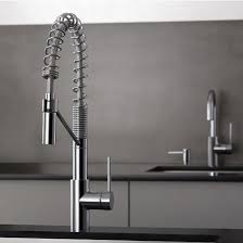 Kitchen Faucet Set by Kraus Mateo Spring Coil Style Pull Out Spray Faucet Bar Prep