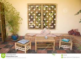 moroccan home patio area royalty free stock images image 3592499