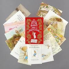 the world of rabbit world of rabbit postcard box the literary gift company