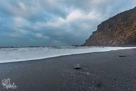 the black beach in vík iceland mujahid u0027s photography