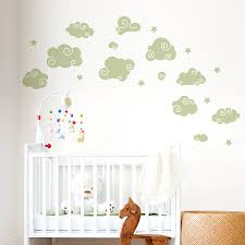Decals For Kids Rooms Whimsical Clouds Wall Decal