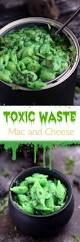 toxic waste mac and cheese cooking with curls