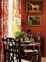 Horse Kitchen Curtains I Adore The Antique Oil Paintings Of The Horses And The Toile