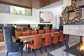 Chairs Inspiring Orange Dining Room Chairs Orangediningroom - Burnt orange dining room