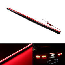 2006 hyundai sonata 3rd brake light replacement amazon com ijdmtoy universal 36 inch roofline led third brake light