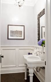 bathroom wainscoting ideas bathroom wainscoting ideas powder room traditional with open sink