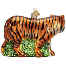 tiger ornament by world outer layer