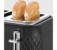 Breville 4 Slice Smart Toaster Buy Breville Curve Vtt786 4 Slice Toaster Black Free Delivery