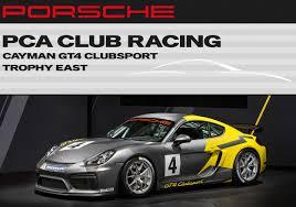 porsche cayman racing pca racing to host porsche cayman gt4 clubsport race