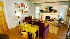 eclectic vintage living room makeover video hgtv