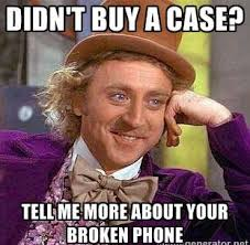 Phone Meme - cracked broken phone meme funny 04 my favorite daily things