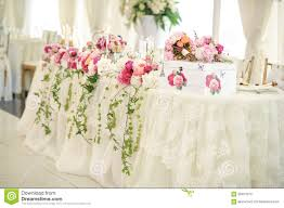 white floral arrangements wedding decoration on table floral arrangements and decoration