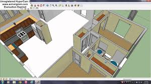 sketchup house tutorial pt 9 interior doors youtube