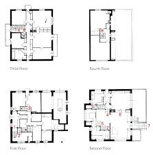 Floor Plan For Residential House Plan Elevation Section