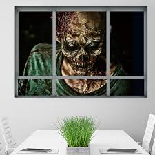 compare prices on wall sticker window big online shopping buy low halloween zombie wall stickers horror poster window view big size sticker halloween gifts room decoration wall