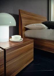 verona platform bed in walnut haiku designs
