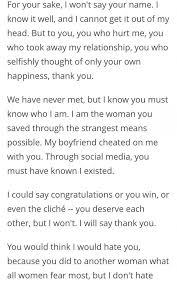 an open letter to my boyfriend letters free sle letters