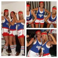 Softball Halloween Costumes American Gladiators Fun American Gladiators