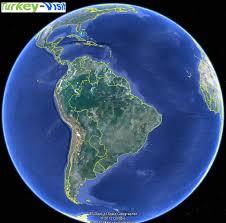 us map globe map of south america