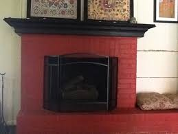 what color s to paint my brick fireplace