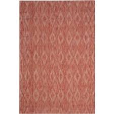 Pink And White Striped Rug Modern Outdoor Rugs Allmodern