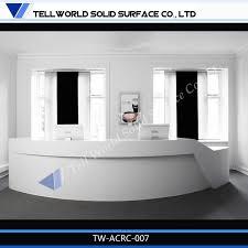 Curved Reception Desk For Sale Cf Aluminum Frame Front Desk Hotel Reception Desk Counter