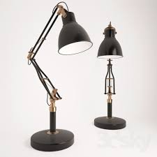 Restoration Hardware Table Lamps 3d Models Table Lamp Restoration Hardware 1930s Studio Task