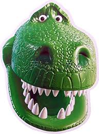 Rex Halloween Costume Toy Story Toy Story Rex Card Face Mask Amazon Uk Toys U0026 Games