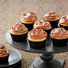 chocolate frosted peanut butter cupcakes recipe taste of home