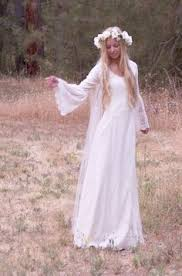 hippie wedding dresses vintage crochet lace festival angel sleeves backless boho hippie