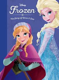 frozen story anna elsa disney books disney