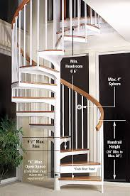 Building Code Handrail Height Spiral Staircase Building Code Salter Spiral Stair