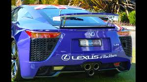 lexus lfa blue lexus lfa australia day