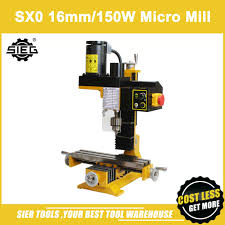 fraiseuse sieg x2 sx0 micro mill machine sieg 10mm mini fraisage machine 150 w mini